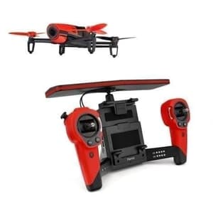 Parrot Bebop 2 Drohne rot mit Skycontrol