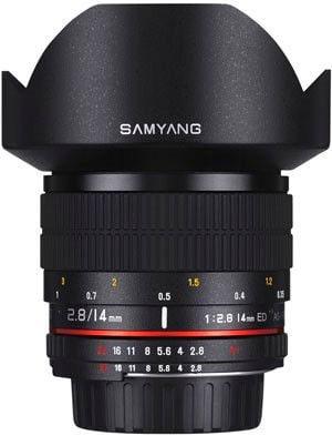 14mm F/2.8 IF ED UMC Aspherical per Canon EF
