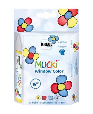 MUCKI Winwod Color, 4er-Set