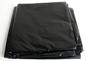 Abdeckplane schwarz 4x5m gefaltet, 75mm dick