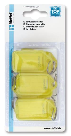 Porta-chiavi giallo