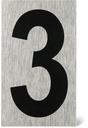 Placca porta numero 3