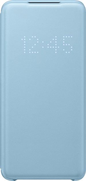 Book-Cover avec Affichage LED Sky Blue
