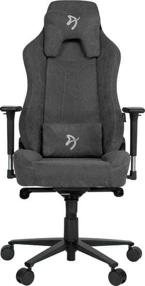 Arozzi Vernazza Soft Fabric Gaming Chair - gris