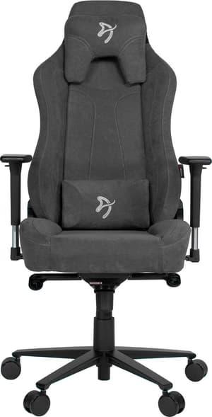 Arozzi Vernazza Soft Fabric Gaming Chair - grau