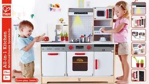Multifunktionale Spielküche