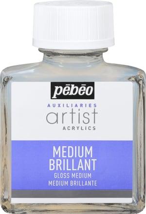 PÉBÉO Auxiliaries Artist Acrylics Gloss Medium 75ml