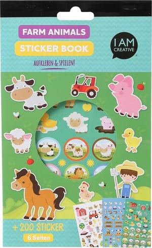 Stickerbook, Farm, 6 Blatt