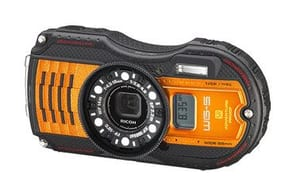 Ricoh Pentax WG-5 GPS Aktivkamera orange