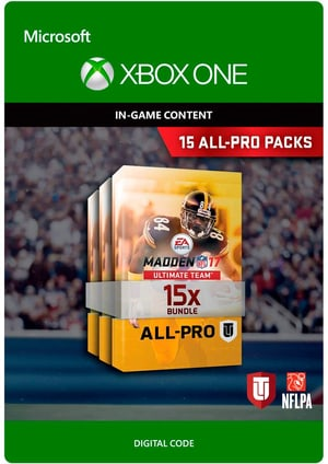 Xbox One - Madden NFL 17: 15 All-Pro Pack Bundle