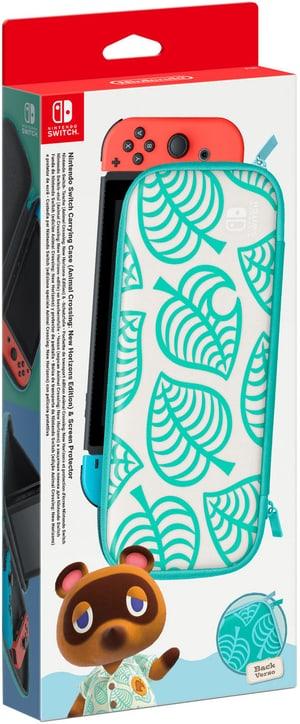 Switch-Tasche (Animal Crossing: New Horizons-Edition) & -Schutzfolie
