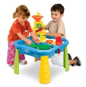 Tavolo da gioco con sabbia e aqua