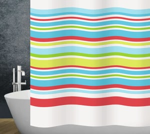 Rideau de douche Stripes