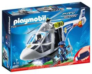 6921 Hélicoptère de police avec projecteur de recherche Int.