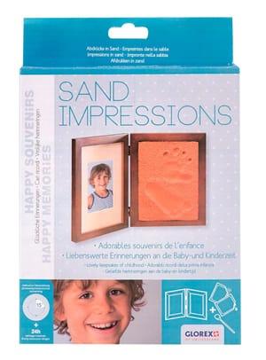 Geschenkpackung Sand Impression