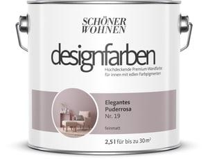 Designfarbe Elegantes Puderrosa 2,5 l