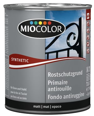 Synthetic Fondo antiruggine Grigio 750 ml