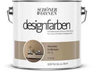 Designfarbe Warmes Erdbraun 2,5 l