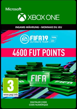 Xbox One - Fifa 19 Ulitmate Team 4600 Points