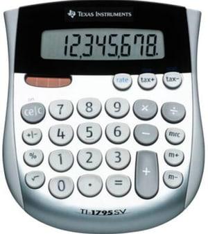 Grundrechner TI-1795SV 8-stellig