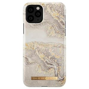 Hard Cover Sparkle Greige Marble grey