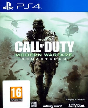 PS4 - Call of Duty: Modern Warfare Remastered