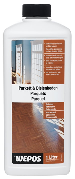 Detergente concentrato per parquet e tavole