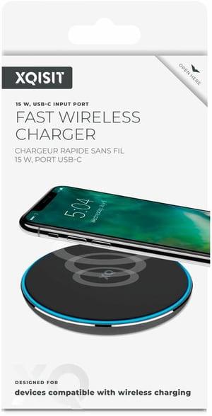 Wireless Fast Charger 15W noir