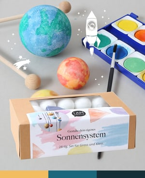 "I AM CREATIVE Kit ""Sistema Solare"""