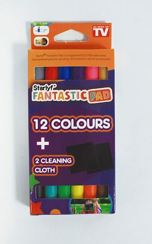 Starlyf Fantastic Pad Set Colours - Ersatztstifte für Maltafel