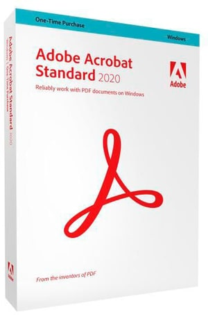 PC - Acrobat Standard 2020 version complète, multilingue