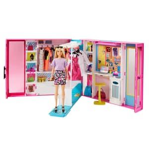 Dream Closet mit Puppe und Zubehörteilen
