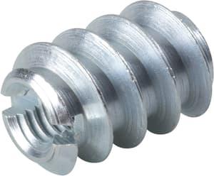 Einschraubmuttern verzinkt M 4 x 8 x 12 mm