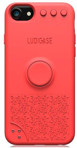 Back Cover Ludicase Tropical Red