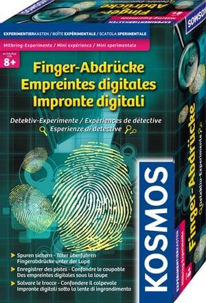 Finger-Abdrücke Detektiv-Experimente