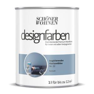 Designfarbe Horizontblau 1 L