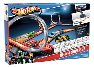 W13 HOT WHEELS 10 IN 1 SUPERSET Y0267