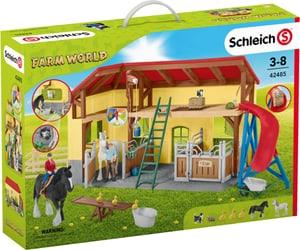 Set di gioco scuderia Schleich