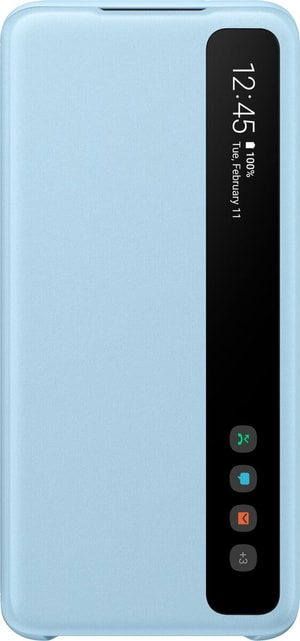 Clear View Book-Cover Sky Blue