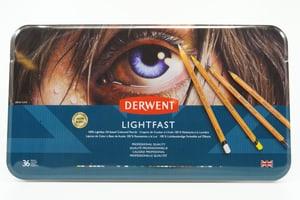 36 matite Derwent Lightfast