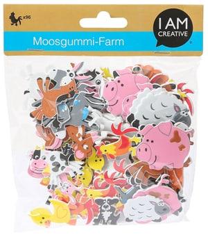 Moosgummi, Farm, 96 Stk.