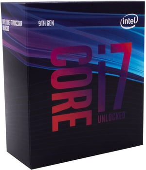 CPU Core i7-9700K 3.6 GHz
