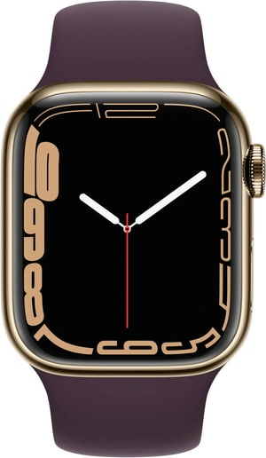 Watch Series 7 GPS + Cellular, 41mm Gold Sport Band