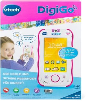 Messenger in stylischem Smartphone - Design (pink)