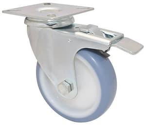 Apparate-Lenkrolle D100 mm feststellbar