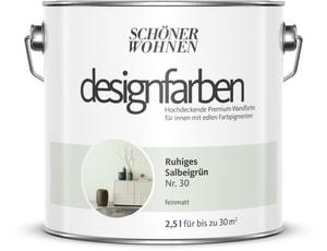 Designfarbe Salbeigrün 2,5 l