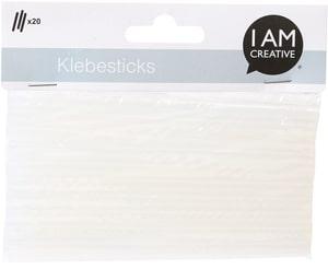 Klebesticks, Transparent, 7 x 140 mm, 20 Stk.