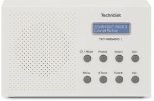 Techniradio 3 - Blanc