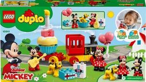 DUPLO 10941 Le train d'anniversaire de Mickey et Min