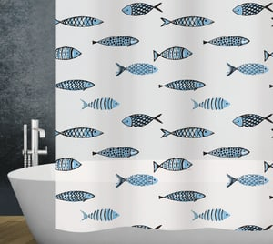 Duschvorhang Fish